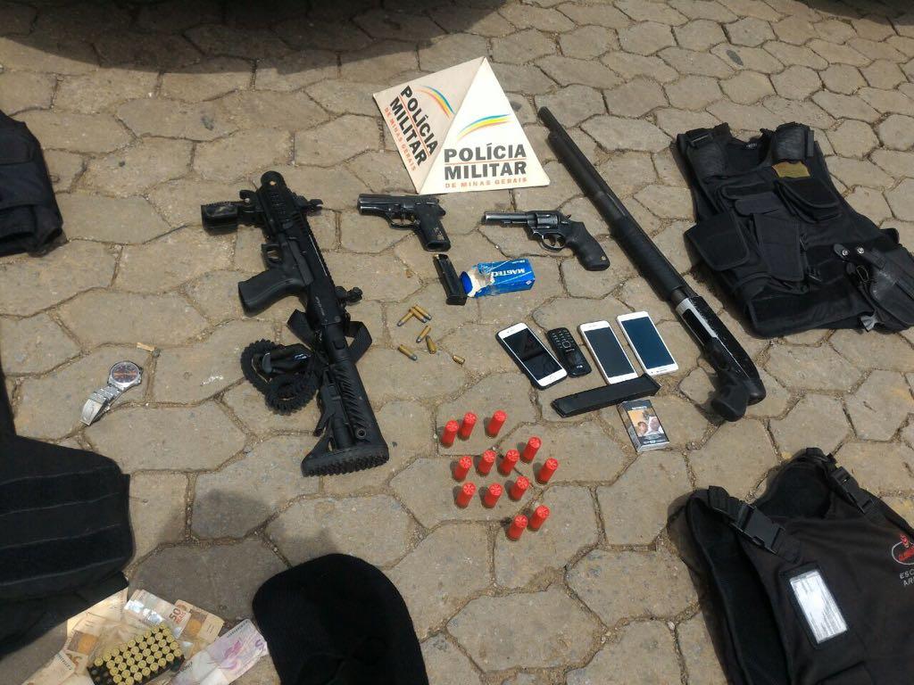 Foco na notícia :: Polícia Militar prende autores de roubo